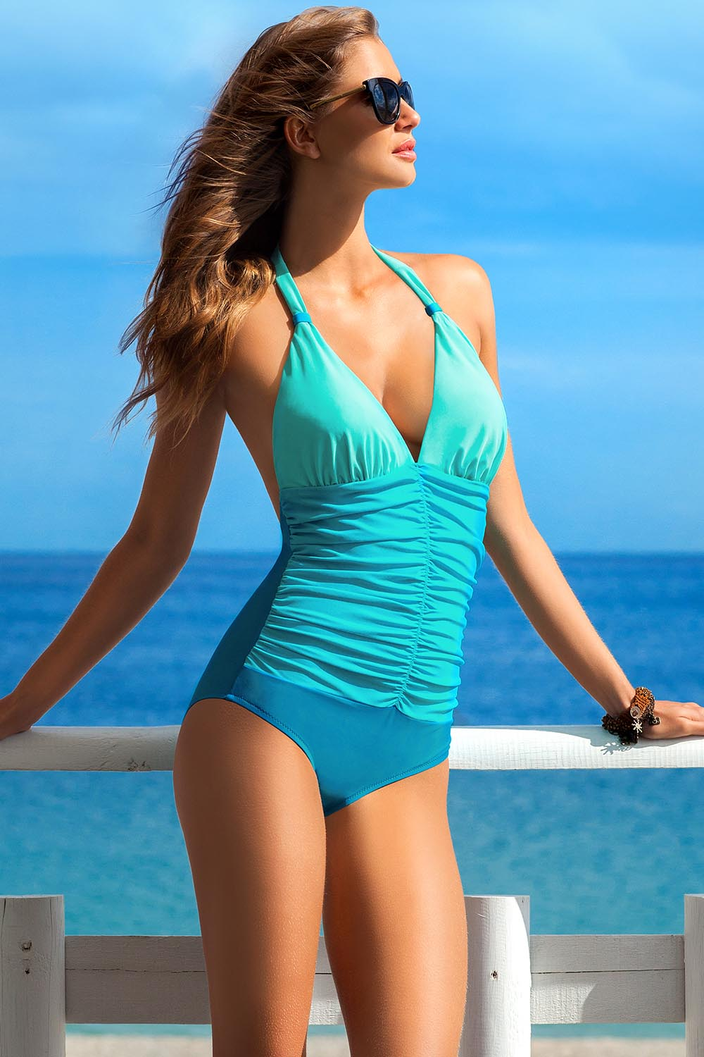 Swimsuit one piece model 56670 Ewlon