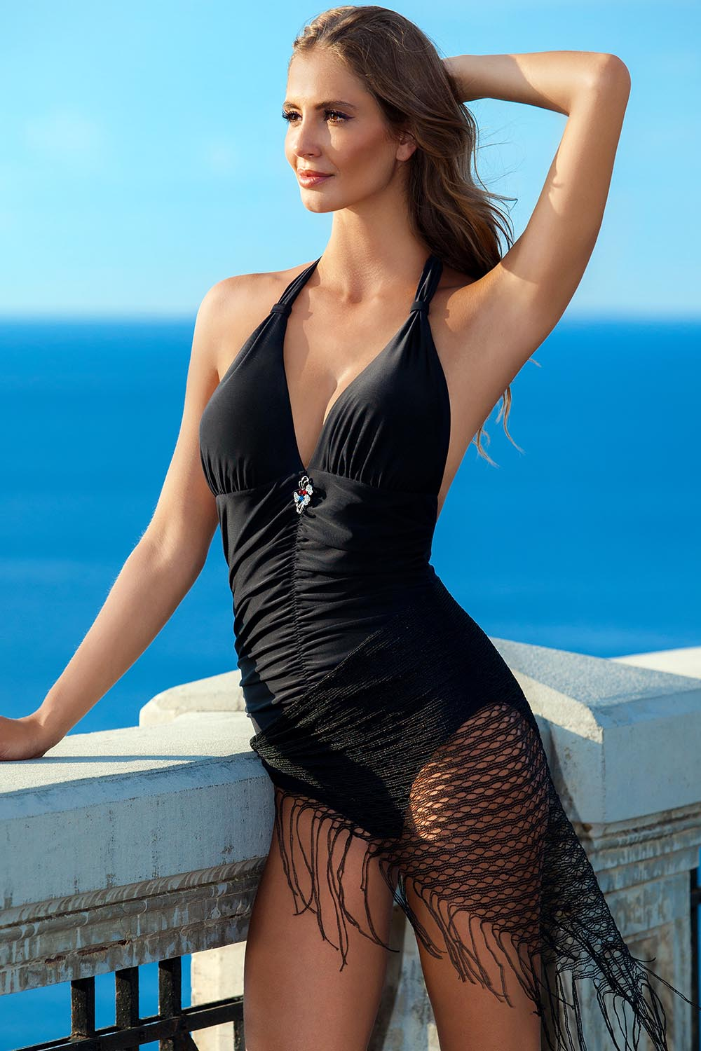 Swimsuit one piece model 93352 Ewlon