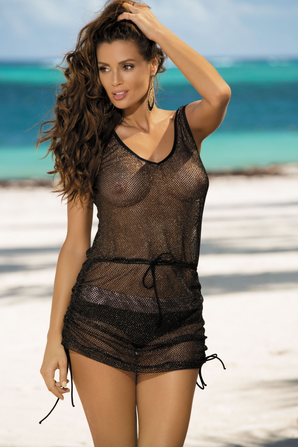 Beach tunic model 56943 Marko